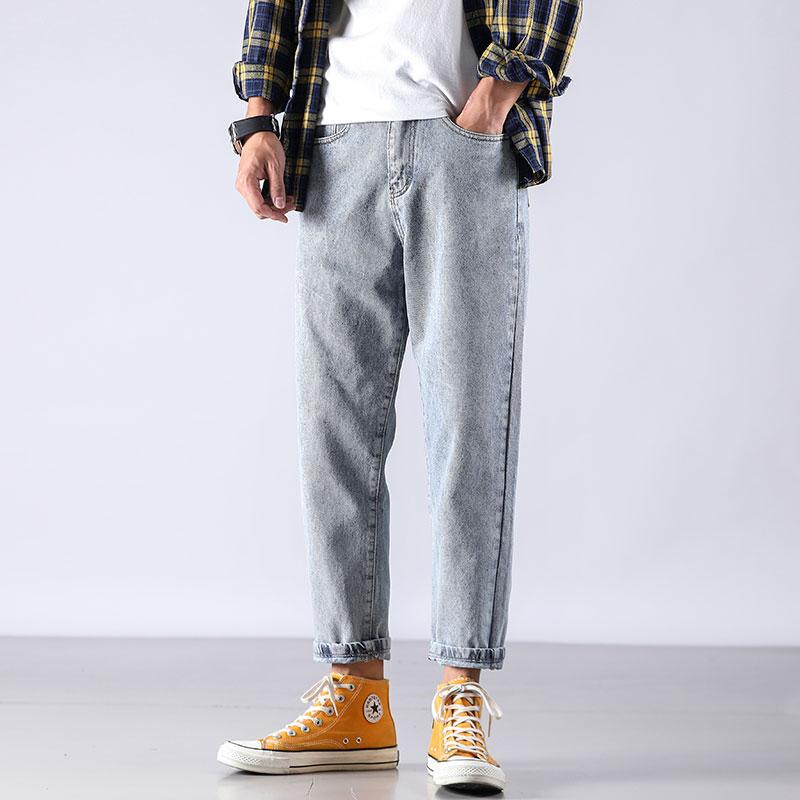 Cheap Wholesale 2019 New Autumn Winter Hot Selling Men's Fashion Casual  Denim Pants MP705