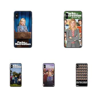 Soft Tpu Phone Case Cover For iPhone 11 12 Pro 5 5S SE 5C 6 6S 7 8 X XR XS Plus Max Tv Show Parks And Recreation Poster image