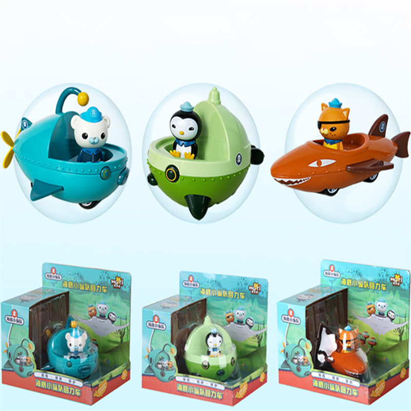 The Octonauts Action Figure Toys Octonauts Car Captain Baby Children Xmas Gift with Retail boxAction & Toy Figures   -