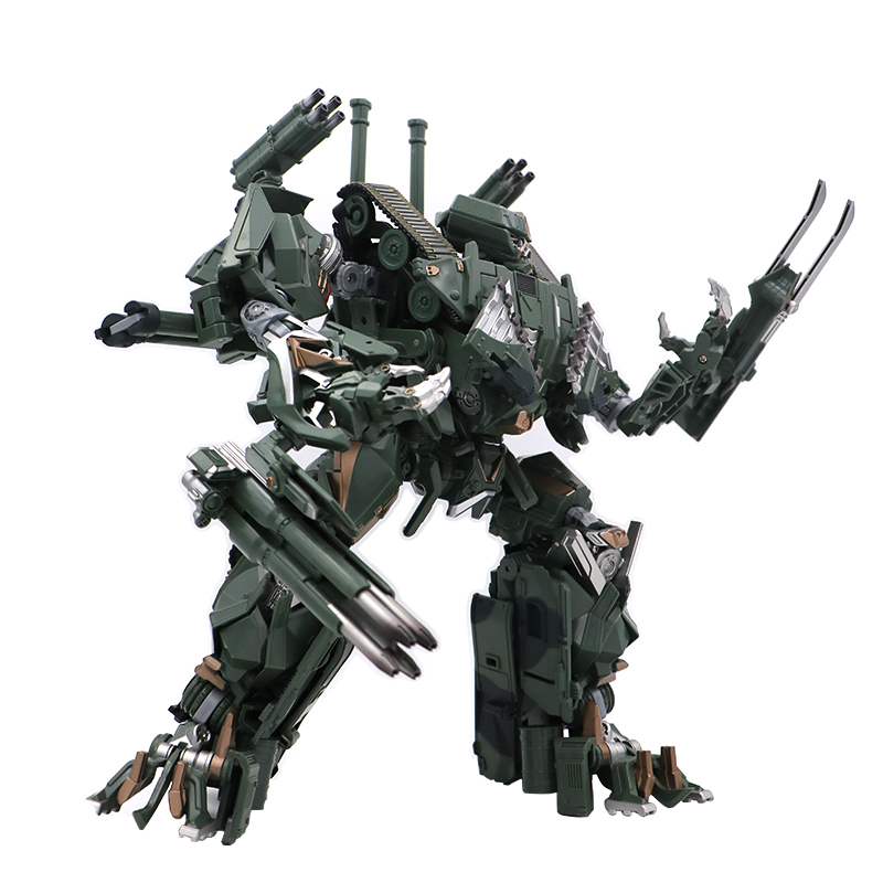 BMB LS-10 LS10 Action Figure Transformation Magnified Ver 28cm Brawl Tank Movie Alloy Anime Noisy Toys Kids Robot Model Figma
