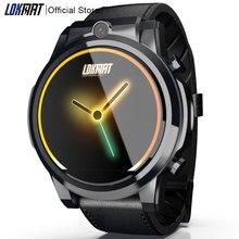Reloj inteligente LOKMAT 4G para Android 7,1, reloj inteligente con GPS, Pantalla AMOLED de 3GB + 32GB y batería de 610mAh para ios, MTK6739