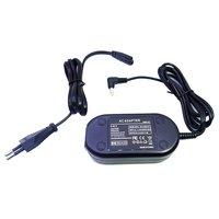 Adaptador de alimentação carregador cabo cabo kit preto durável DMW AC7 DMW AC7GK para panasonic lumix DMC FZ50  dmcfz50|Adaptadores AC/DC| |  -