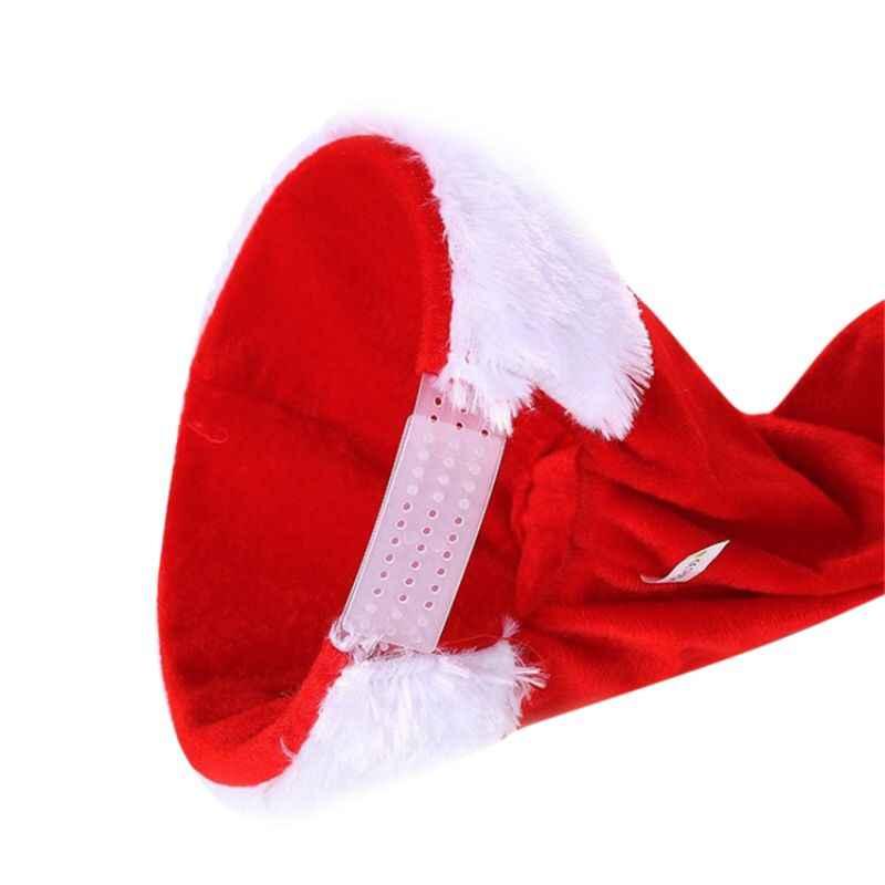 Mũ Lưỡi Trai Giáng Sinh Điện Ca Hát Và Nhảy Múa Nón Bé Xmas Nón Ngộ Nghĩnh Santa Nón Lưỡi Trai Trẻ Em Quà Tặng Năm Mới 45*20 Cm