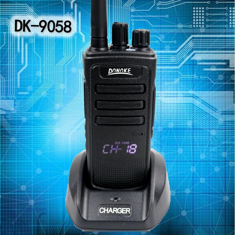 DONGKE 9058 Powerful Walkie Talkie Uhf 400-470mhz 10W Two Way Radio Station Ham Radio Comunicador Hf Transceiver Walkie-talkies