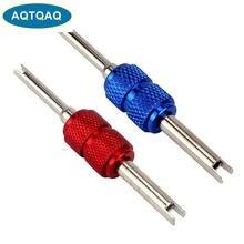 AQTQAQ 1 pièces outil de réparation d'installateur d'outil de dissolvant de noyau de tige de Valve de pneu de voiture