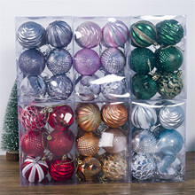 Christmas Tree Ball Decorations Ornament Hanging Pendant Merry Christmas Decor For Home