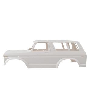 Image 3 - 313mm בסיס גלגלים קשה פלסטיק גוף רכב פגז אינו מורכב ערכת עבור Traxxas TRX4 Frod ברונקו צירי SCX10 90046 RC Crawler חלקי רכב