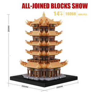 Image 4 - Cityเข้ากันได้กับสถาปัตยกรรมMini Building Blocks Worldที่มีชื่อเสียงสถาปัตยกรรมรูปปั้นLibertyของเล่นเด็กของขวัญ