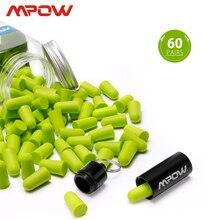 Mpow HP055 60 คู่โฟมปลั๊กอุดหูเสียงรบกวน Blocker/กรอง Hearing Protector NRR 32dB ลดเสียงรบกวนกระเป๋าถือสำหรับ SLEEP