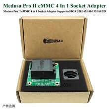 صندوق Medusa Pro II ، محول مقبس eMMC 4 في 1 ، منتجات ذات جودة رسمية ، اتصال مباشر مع BGA مدعومة