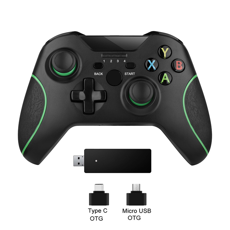 2.4G Wireless Controller For Xbox One Console For PC For Android smartphone Gamepad Joystick|Gamepads| - AliExpress