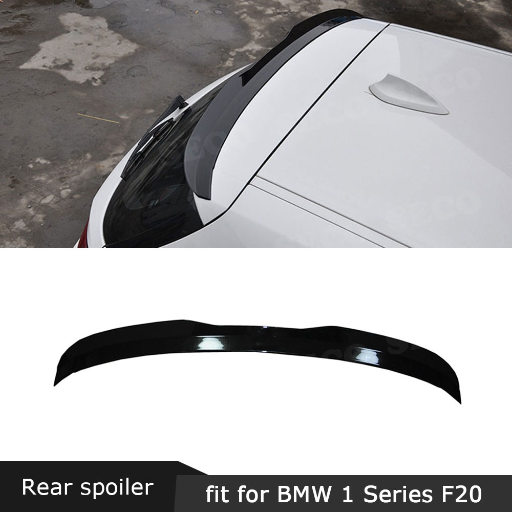 For F20 Rear Roof <font><b>Spoiler</b></font> For <font><b>BMW</b></font> 1 Series F20 <font><b>F21</b></font> 116i 120i 118i M135i <font><b>Spoiler</b></font> 2012-2018 Max Style Window Side Wings image