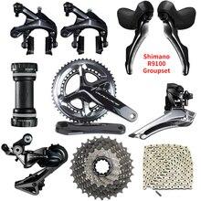 Shimano dura ace R9100 groupe 11 vitesses 2x11 vitesses 53x39T 50x34T 52x36T 170/172.5/175mm Kit de groupe pour vélo de route vélo