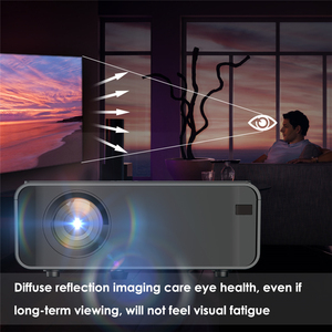 Image 4 - Portable WiFi Bluetooth LED Projector 1080P Home Theater Projector HDMI USB Home Cinema Projector Media Video Player 50 60W