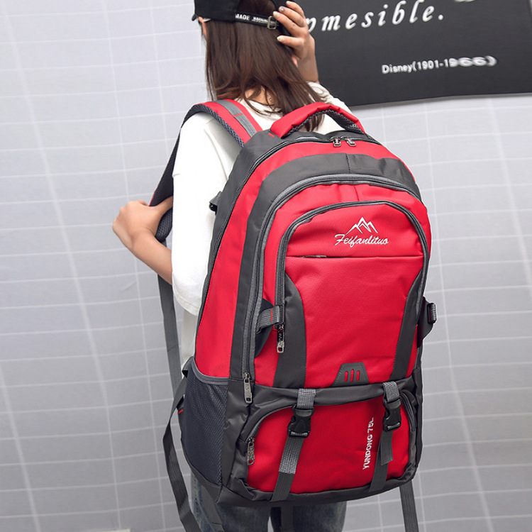 New Style Backpack Hiking Camping Casual Backpack Large Capacity Nylon Outdoor Sports Hiking Bag