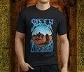 Новинка, популярная мужская черная футболка с надписью SLEEP Stoner Doom Band Dopesmoker