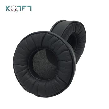 KQTFT Super Soft Protein Replacement Ear Pads for Plantronic RIG 500E Surround Sound PC Headset Earmuff Cover Cushion Cups image