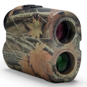 Image 3 - BIJIA Laser rangefinder Hunting 600m Telescope Distance Meter Golf Digital Monocular Golf Range Finder Angle measuring tool