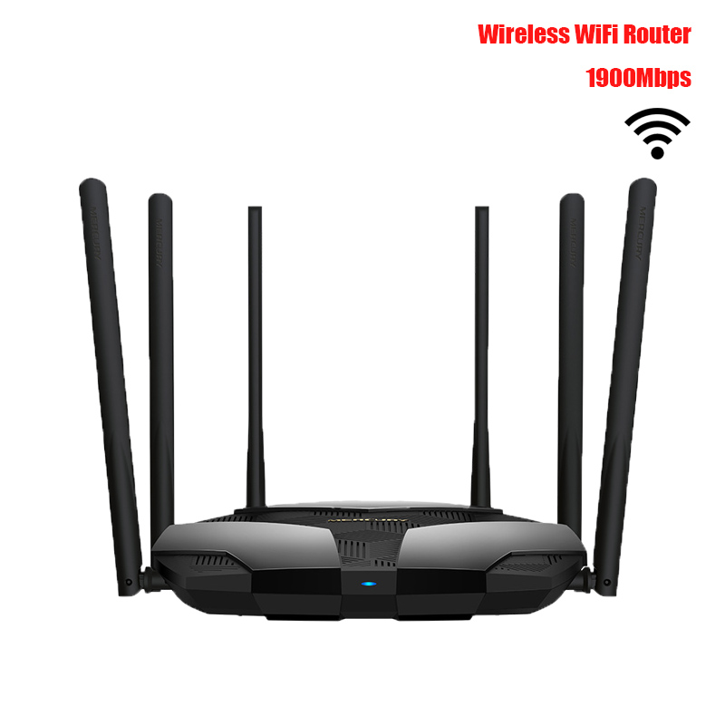 Wireless WiFi Router Dual-band Gigabit Home High Speed WiFi High Gain Antennas Wider Coverage Easy setup 1