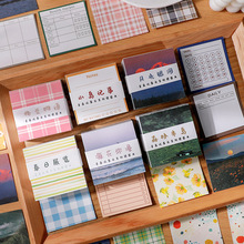 20set/lot Memo Pads Sticky Notes Youth Chronicles Series Junk Journal Paper diary Scrapbooking Stickers Office School