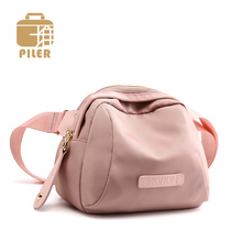 Piler 2019 Women Waist Chest Bag Handbag Ladies Waterproof Nylon Small Crossbody Shoulder Pack Phone