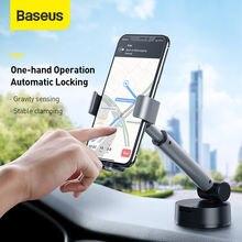 Baseus гравитационный автомобильный держатель с присоской для