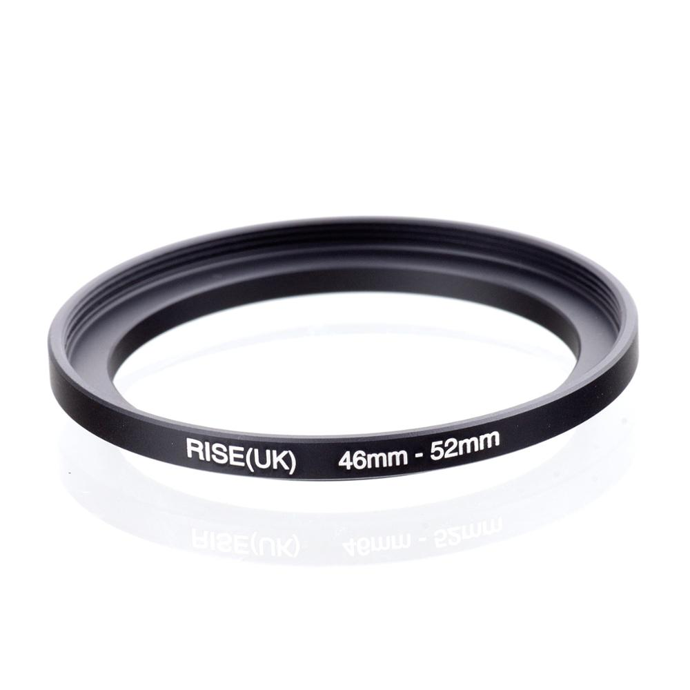 RISE(UK) 46mm-52mm 46-52 Mm 46 To 52 Step Up Filter Ring Adapter