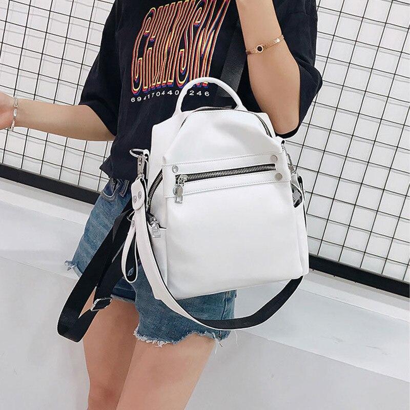 Korean Style Women Backpacks School Backpack For Teenager Girls Shoulder Bag Daypack For Women Mochila Feminine Bag 2019 New