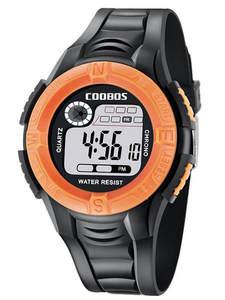 Wrist-Clock Sports-Watch Digital Electronic Reloj Mujer for Children 100pcs/Lot LED Hombre