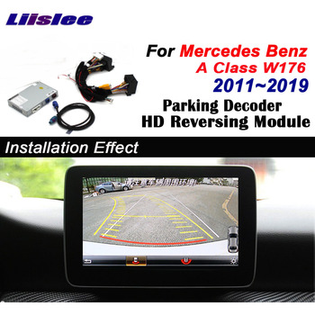 For Mercedes Benz A W176 2012~2019 2015 2016 2017 interface Adapte Screen Display Improve backup Front Rear View Camera Decoder цена 2017