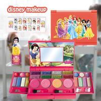 Disney Children's Princess Cosmetic And Moveable Makeup For Cosmetics Set Toy Make Up Kits Cute Play House Children Gift