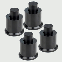 4pcs Speakers Isolation Spike Magnetic Levitation Stand Feet Adjustable Damping Nail #Black