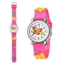 Детские часы с милыми мультяшными персонажами деликатные силиконовым