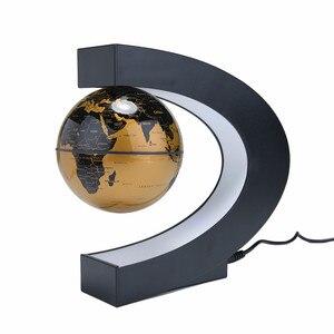 Image 3 - Bolas magnéticas de levitação, led flutuante, mapa do mundo, luz em formato de c, antigravidade, bola magnética, decoração de casa, aniversário, dropship