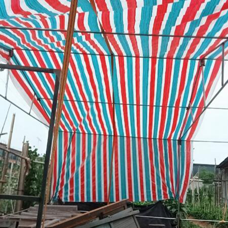 Various Size Outdoor Waterproof Tarpaulin Ground Sheet Camping Lightweight Tarp For Car Truck Canopy Cloth Garden Sunshade Cloth