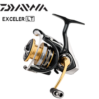 DAIWA EXCELER LT 1000/2000 /2500/3000/4000/5000 /6000 Series High and Low Gear Ratio Reel Spinning Reel Saltwater Coils