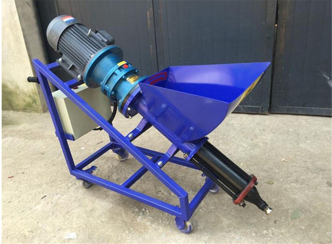 Équipement de jointoiement de béton de mastic de mortier de peinture d'injecteur de ciment de Type Vertical/Horizontal à haute pression 380 V/220 V