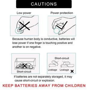 Image 5 - 40PCS PKCELL CR2032 3v batterie a bottone BR2032 DL2032 ECR2032 Batteria Al Litio Della Moneta Delle Cellule 3V CR 2032 pilepilas batterie