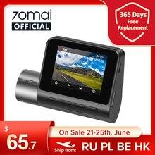 70mai Dash Cam Pro Plus A500S GPS 70mai PLUS + Видеорегистраторы для автомобилей спереди и сзади Cam 1944P Скорость координаты ADAS 24 часа в сутки для парковки