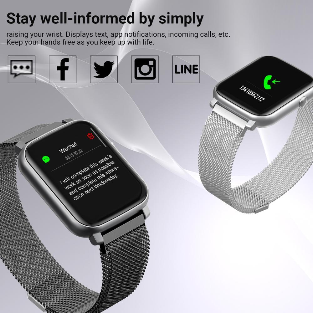 cheapest SMAWATCH Smart Watch Smartwatch Men Women 2020 IP68 Swimming Waterproof Alloy Full touch Women s Smartwatch Watch Smart Watches