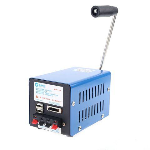 gerador de emergencia portatil inversor ao ar livre multifuncoes manual manivela