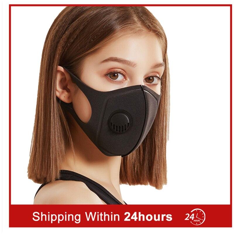 Korean Mask Dust Mask Washable Reusable MaskCotton Cloth Universal Suitable For Breathing Valve Replaceable