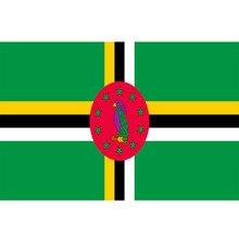 Флаг Содружества Доминики Yehoy 90x150 см