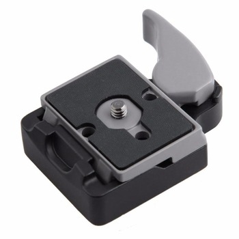 цена на Camera 323 Quick Release Clamp Adapter + 200PL-14 Quick Release Plate Compatible For Manfrotto Compat Plate