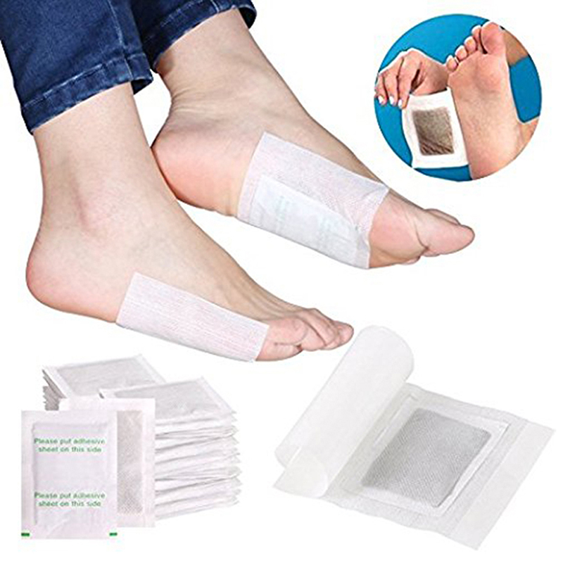 50PCS wormwood and ginger foot patch deodorant fresh Anti Swelling Improve Sleep feet Patches in Foot Care Tool from Beauty Health