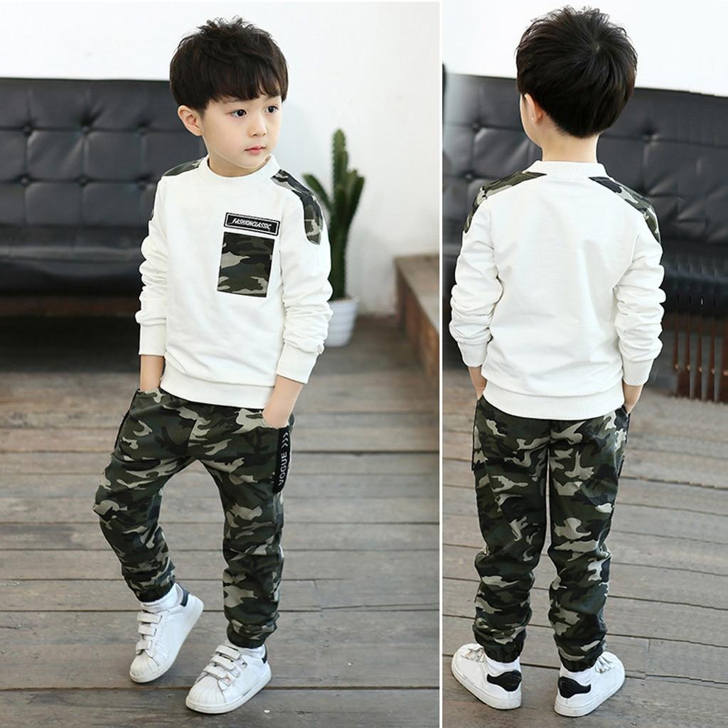 2PCS Baby Infant Kids Boys Girls Short Sleeve Romper Clothes Pants Set Outfits