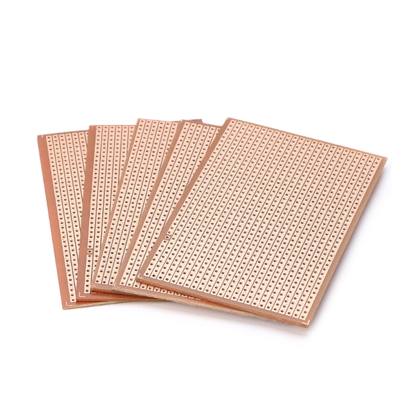 5pcs Universal Bakelite Circuit Board DIY Prototype PCB Prototyping Track Plate