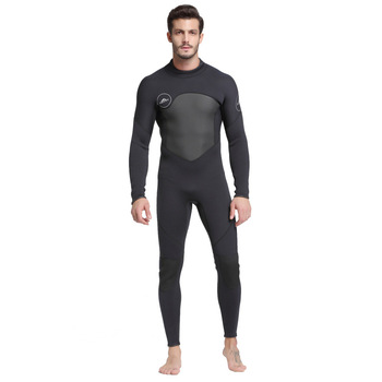 Women's Full Body Wetsuits, Premium Neoprene 3mm Men's Zip Diving Suit for Underwater Scuba Dive Surfing Snorkeling Swimming