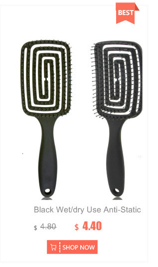 escova de cabelo pente emaranhado escovas para