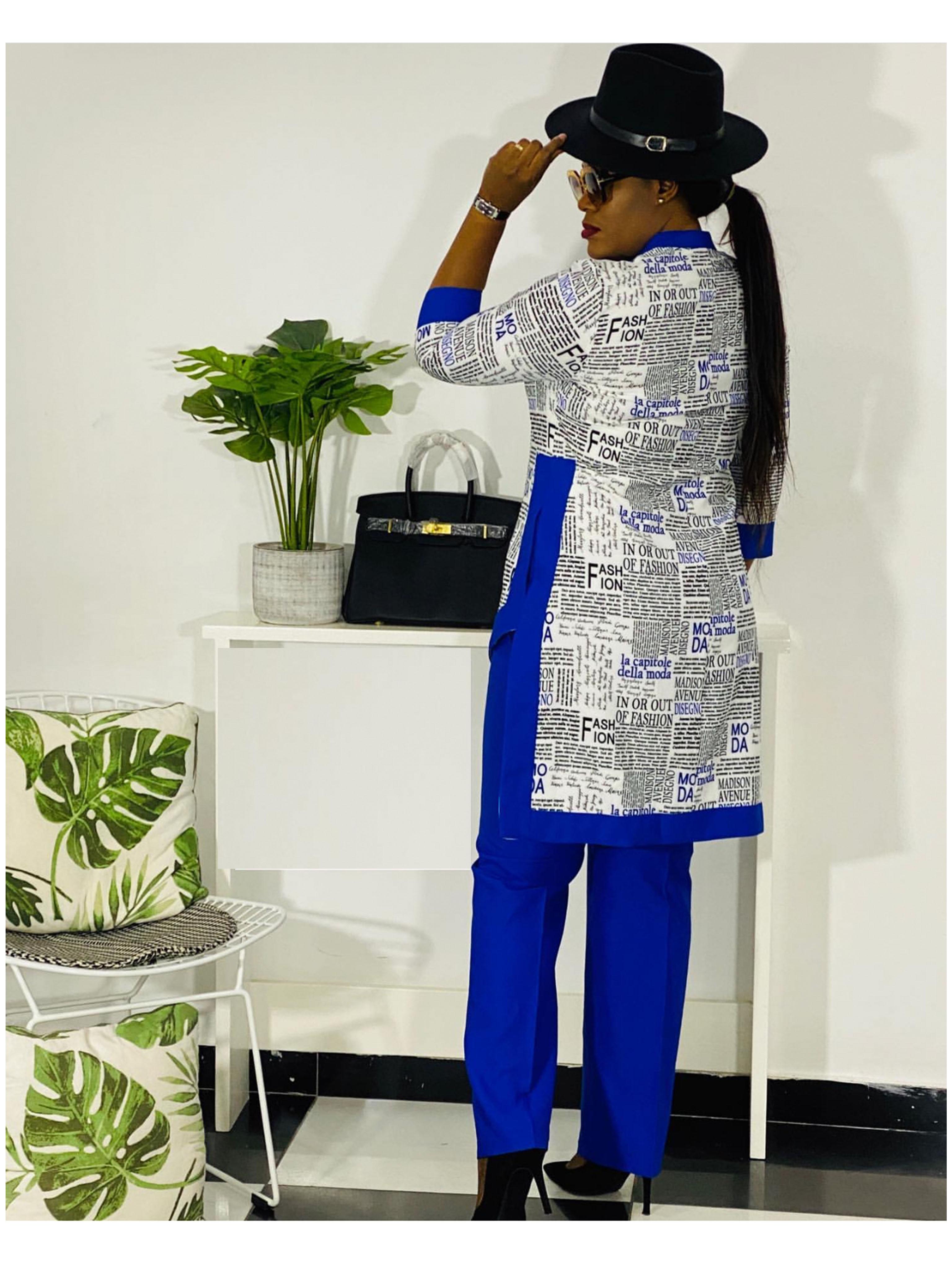 Dashiki African New Fashion Suit  4